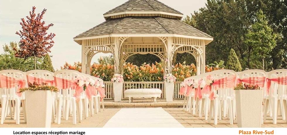Location espaces réception mariage