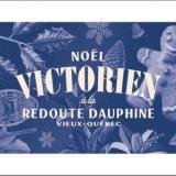 Noël victorien à la redoute Dauphine